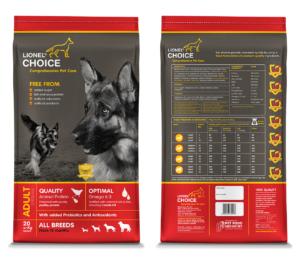 Lionel's Choice Adult Dog Food (Pellets)