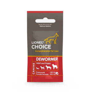 Lionel's Choice Canine Dewormer