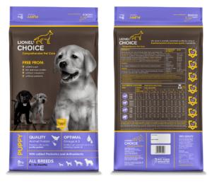 Lionel's Choice Puppy Food (Pellets)